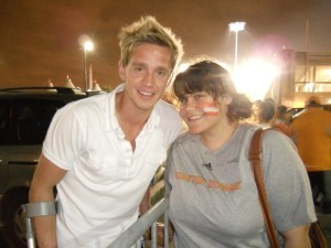 with Stuart Holden in 2011