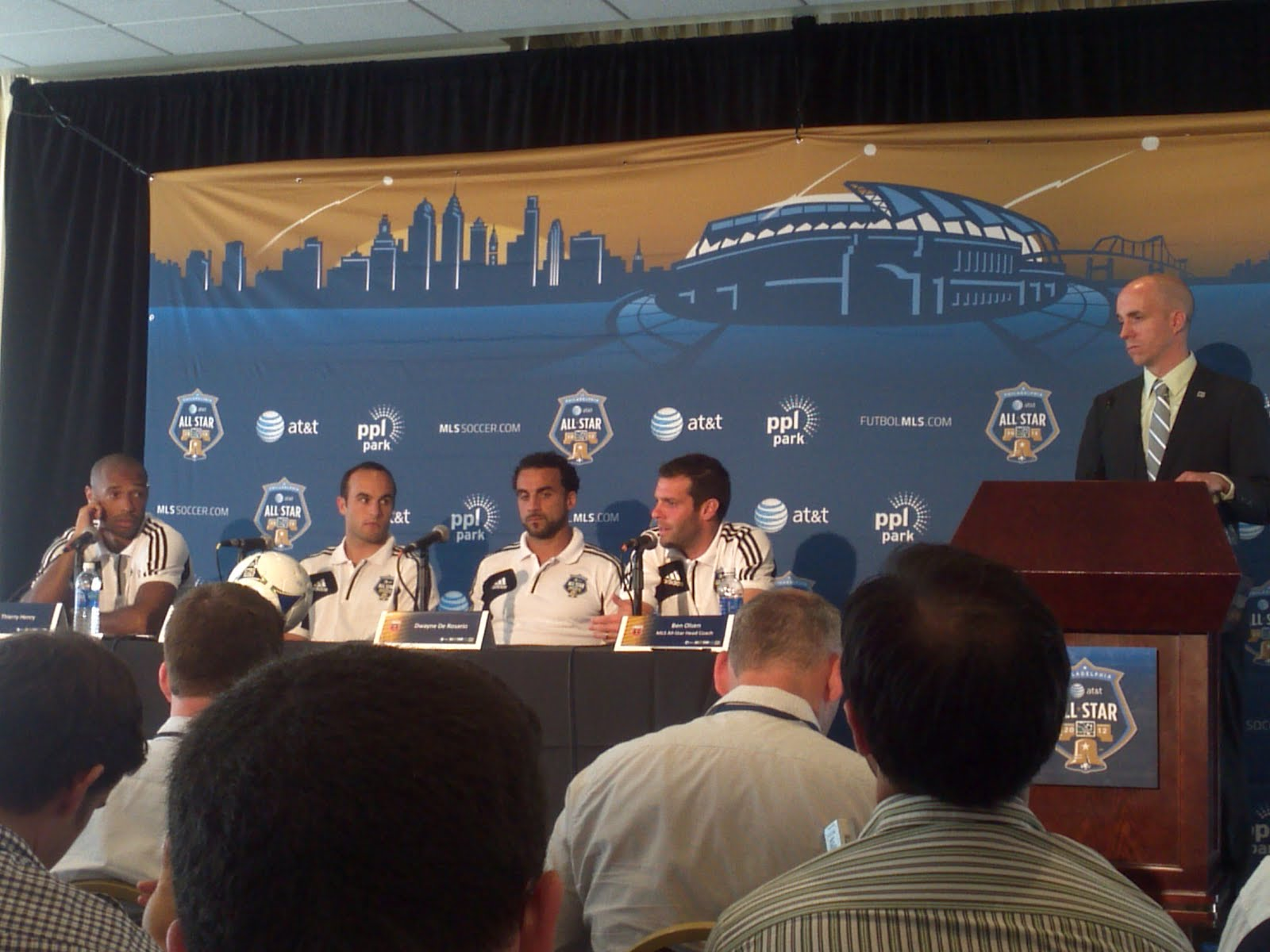 Photos: MLS All Star Game Press Conference - lgbt.soccer