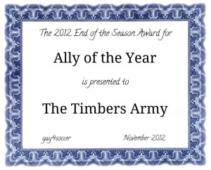 Ally of the Year 2012