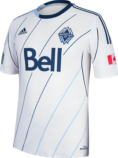 Vancouver Whitecaps home jersey