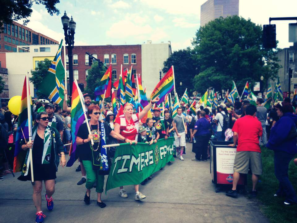 Timbers Army Portland Pride