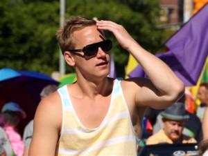 David Testo Utah Pride