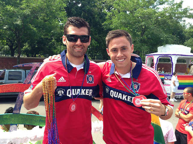 Chicago Fire Pride Parade