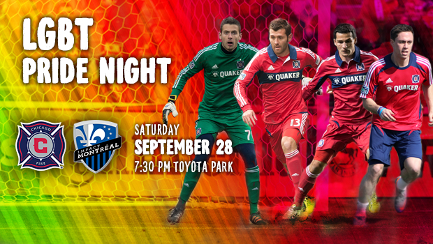 Chicago Fire Pride Night