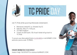 Minnesota United Pride Night