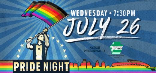 Philadelphia Union Pride Night